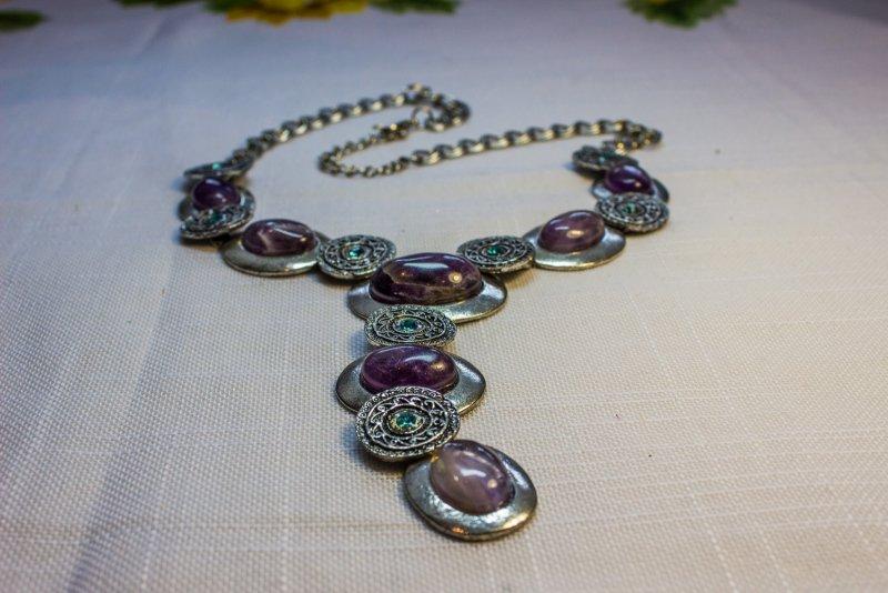 """В продаже Ожерелье из камней  """"Целебный аметист """" по доступной цене c комментариями пользователей и описанием..."""